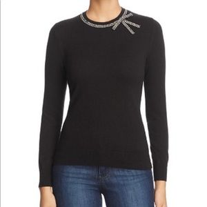 NWOT Kate Spade New York Bow Embellished Sweater